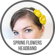 Yellow Spring Flower Floral Fascinator Headband Tutorial