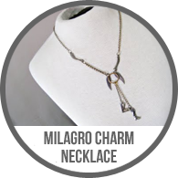 Handmade Vintage Mexican Milagro Charm Doll Necklace Tutorial