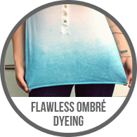 Flawless Ombre Dye Dyeing Shirt Tutorial