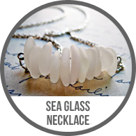 Handmade Silver Chain and Sea Glass Necklace Tutorial